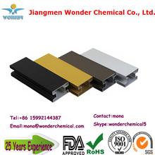 high quality aluminium profile powder coating