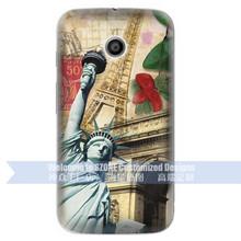 La estatua de la libertad de la marca de diseño móvil Case para Moto E Case OEM y ODM está disponible