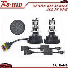 New arrival mini all in one hid kit H4 hi/lo 12V35W bi xenon lamp headlight
