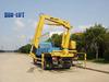6 ton knuckle boom truck mini mobile china derrick crane with CE certificate SQ6.3ZA2