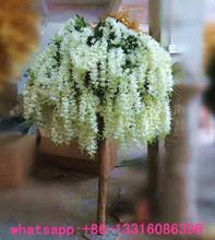 LXY081707 artificial wisteria tree decorative artificial wedding tree wedding table tree centerpieces
