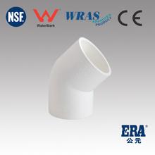 Watermark1477 Elbow 45D high pressure pvc pipe fitting