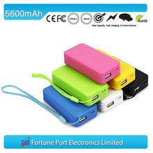 dual usb aa batteries power bank adapters 5600 mah