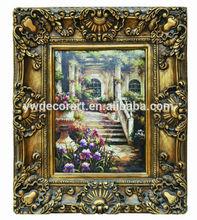 2015 hotsale cheapest Framed oil painting
