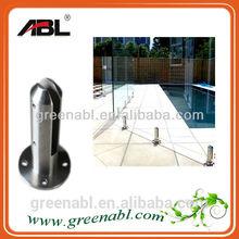 304 or 316 stainless steel casting spigot/glass clamp/scaffolding spigot