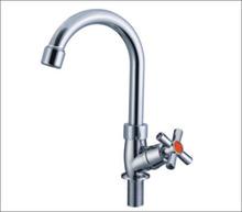 Cross handle outdoor water bottle faucet