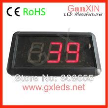 hangzhou ganxin 1.8 inch indoor red time projection clock countdown