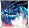 paracaídas de tela de seda