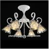 Newest products 2014 guzhen modern glass chandelier lights for europe