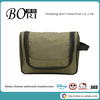 hot sell canvas mens travel hanging foldable toiletry bag cosmetic bags