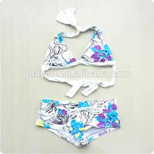 triangle cup bikini top with traditional low leg bottom sexi open bikini