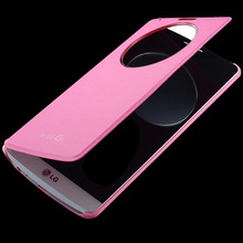Quick View Circle Cover Case For LG G3 NFC Wireless Charging