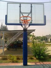 Outdoor Adjustable Basketball Goal System (life time warranty)