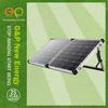 TUV,IEC,CE,ISO,MONO high efficiency low price foldable solar panels 80w watt