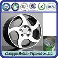 venta caliente de metal de pigmento prima hojeando pasta de aluminio