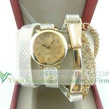 2014 New design resin gemstone alloy chain vogue watch ladies hot sale fashion leather bracelet wrist watch wholesale