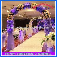 Custom fashionable party and wedding decoration, Organza yarn, apearl yarn