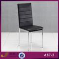 A87-2f hotel de alta qualidade tubular de metal cadeira de jantar