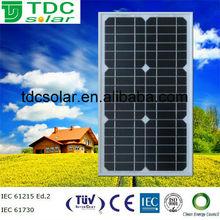 20w 12v mini solar panel