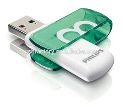 Plastic Slim Encrypted Mini USB 2.0 Flash Drive Promotional, Twist plastic drive gadbets 1gb, Promotional swivel usb key pens