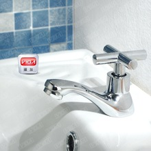 modern single cold basin faucet brass body and brass cartridge with high quality 411105