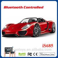 rc car toy Bluetooth car 1 14 android control Porsche 918 universal car door opener remote
