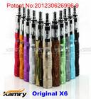 Popular big cigarette x6 mod x6 electronic cigarette starter kit, fashion design x6 e cigarette