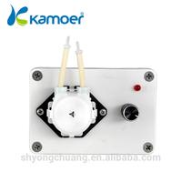 Kamoer KCP peristaltic pump for concrete