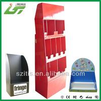 Custom beautiful printing good quality spinning counter top display rack