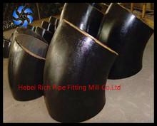 Butt-welding Carbon steel 45 deg elbow,tee,cap and reducer