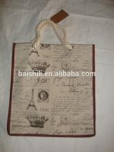 Jute & Cotton Hanging Bag