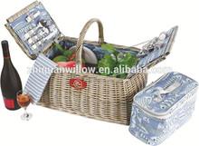 wholesale wicker bags wedding flower girl basket rattan storage drawers