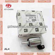 Al4 2574.16 epc de solenoide de la válvula para puegoet/renault/citroen de transmisión automática