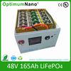 Lifepo4 cheap rechargeable battery 48v 165ah backup /UPS