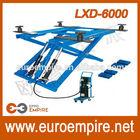 LXD-6000 New China alibaba supplier lifts atv / cheap scissor car lift / CE scissor car lift