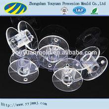 clear plastic spools