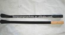 """27"""" Bramlle Nettle Cutter,Duck Toe Bend blade,Wooden handle, Garden Grass Hand tools factory"""