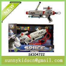 2014 new design soft ball gun ball shooting gun with paintball