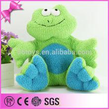 cartoon cute frog big eyes big soft stuffed plush crazy green frog toy