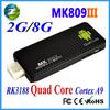 MK809III rk3188 quad core 1.8g usb tv stick satellite receiver