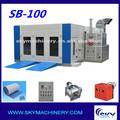 Sb-100 china fornecedor da pintura de pulverizador cabine / inflável cabine de pintura