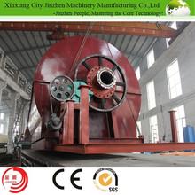 No soil/water/air pollution pyrolysis tire/plastic machine from JINZHEN