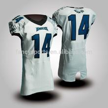 American football uniform Capless sleeve