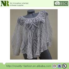 Crochet Oversized Sweater,Women Knitted Wool Sweater,Long Full Length Sleeves