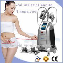 Good effect 4 hand pieces fat freezing machine cryolipolysis etg50-4s