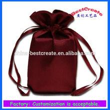 Hot sale Satin fabrics bags,Satin gift bag,Satin jewelry bag