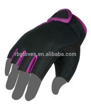 Fingerless sport glove