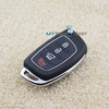 CCAJ12LP0590T3 flip key shell 4 button for Hyundai Elantra remote key case