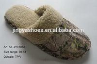 Top quality handmade korea sexy photo men slipper