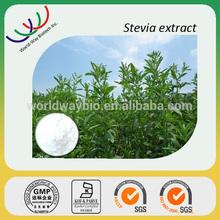 free sample HACCP GMP KOSHER FDA certified supplier high pure stevioside RA rebaudioside A stevia 98%